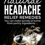 Natural Headache Relief Remedies