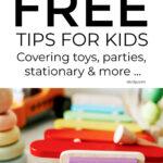 Plastic Free Living Ideas For Kids