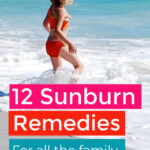 DIY Sunburn Remedies For All The Family