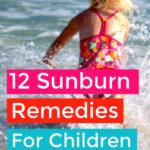 DIY Sunburn Remedies For Children