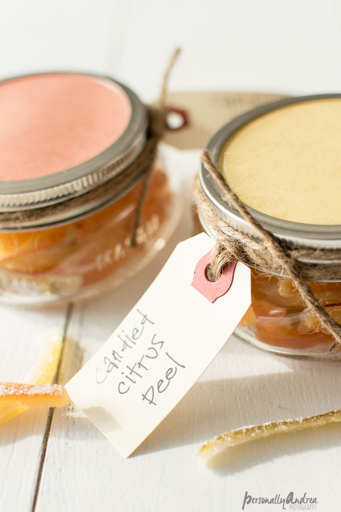 Homemade Candied Peel As A Simple DIY Christmas Gift
