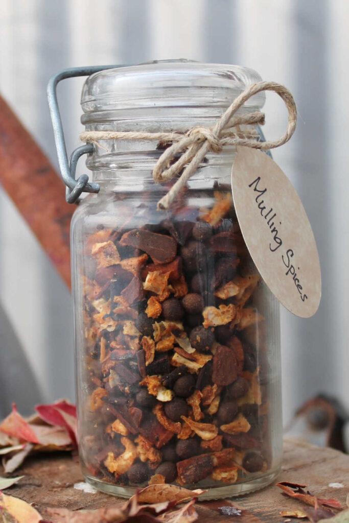 Mason Jar Gift Idea - Mixed Spice Mini Jar