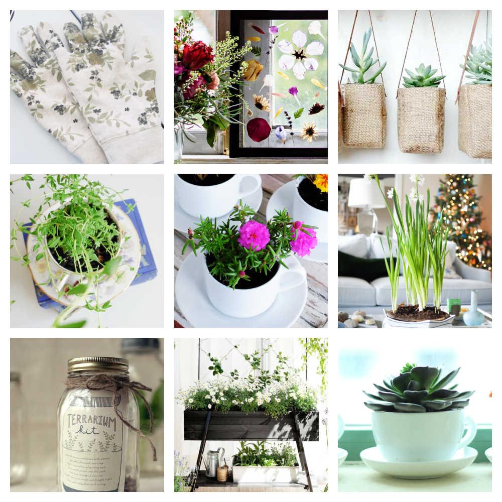 Cheap Simple DIY Garden Gifts