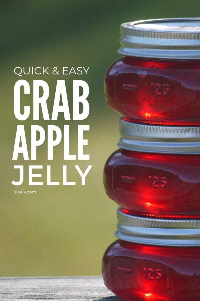 Easy Crab Apple Jelly Recipe