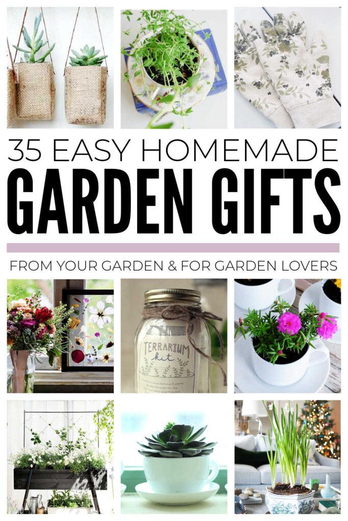 Easy Homemade Garden Gifts