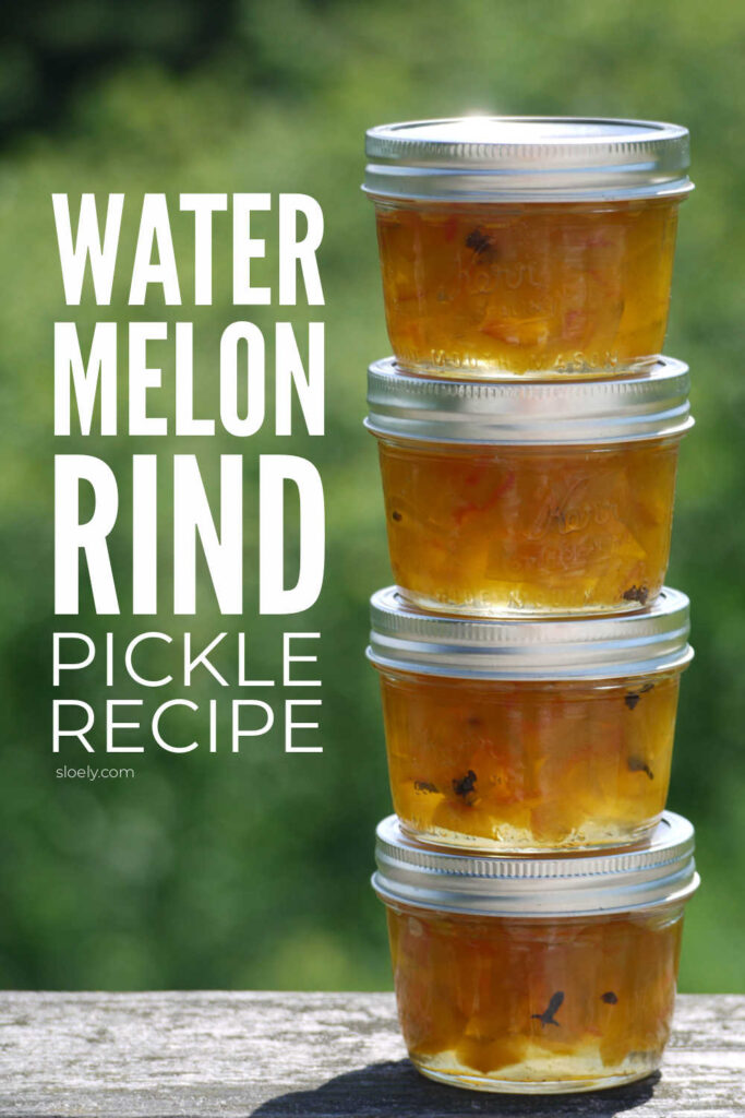 Easy Watermelon Rind Pickle Recipe