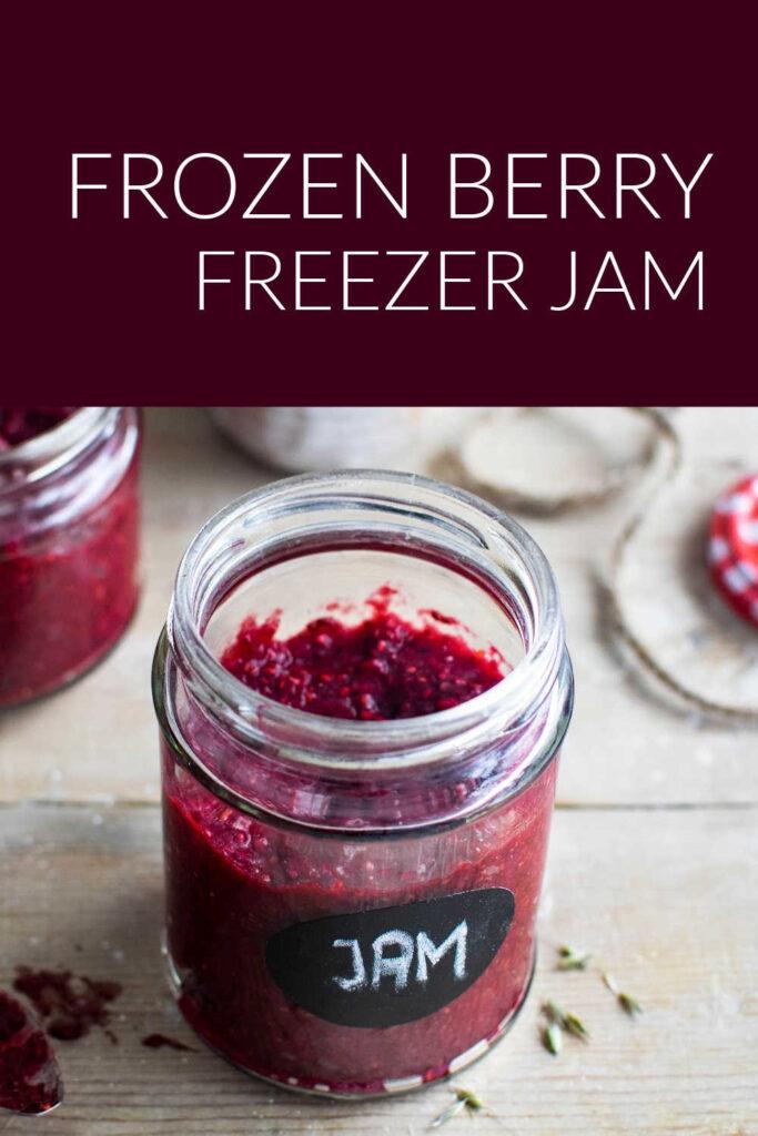 Frozen Berry Freezer Jam