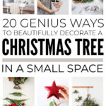How To Decorate A Christmas Tree In A Small Space