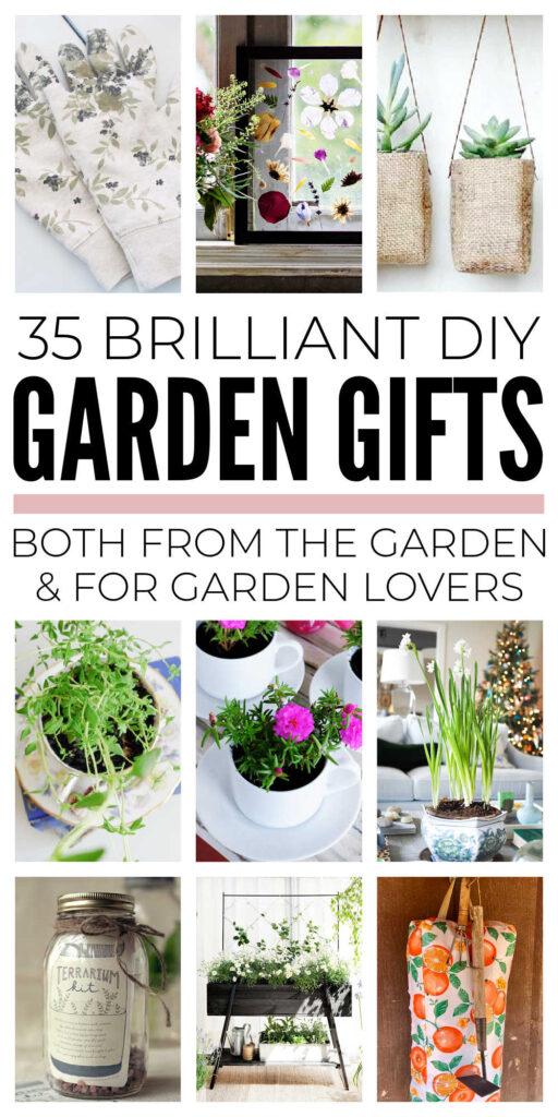 Inexpensive DIY Garden Gifts
