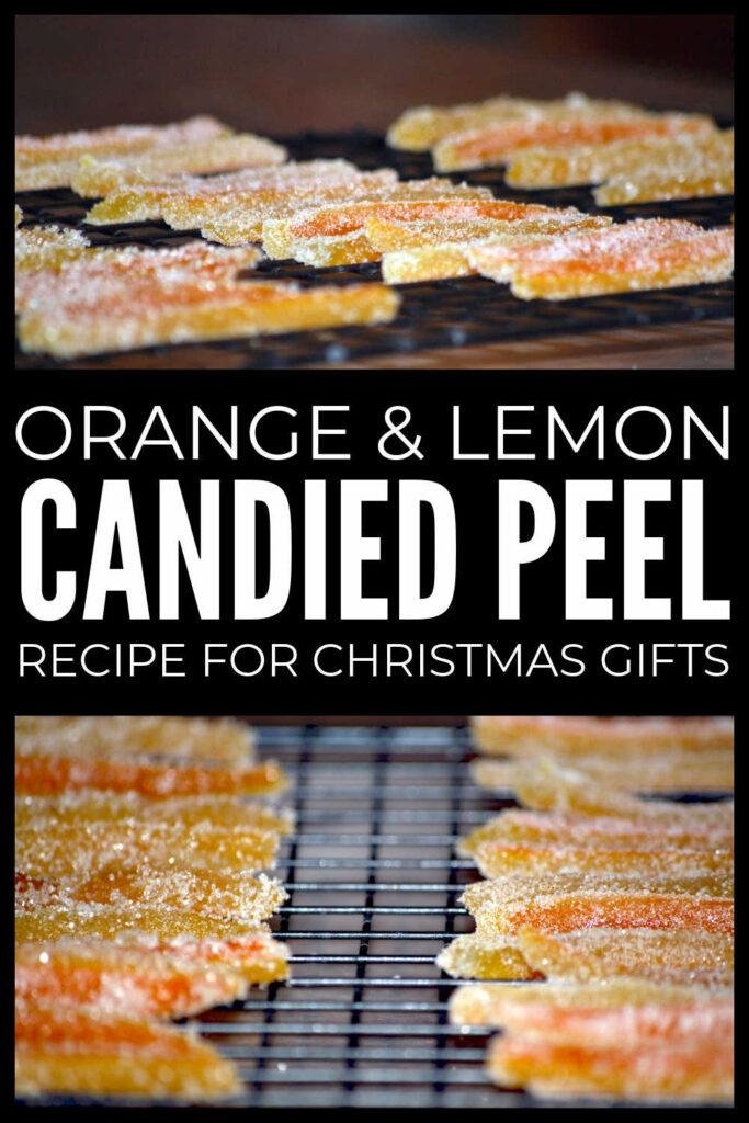 Orange & Lemon Candied Peel Recipe