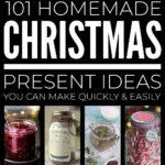 Quick Easy Homemade Christmas Presents