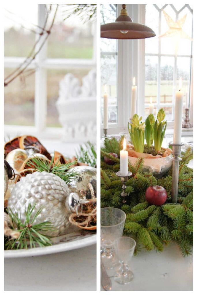 Rustic Christmas Decor - Table Decoration Ideas