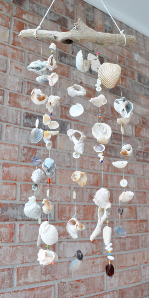 Seashell DIY Windchime