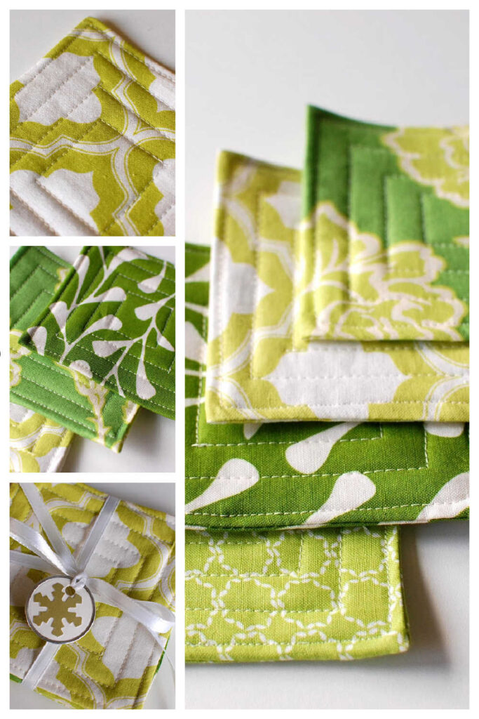 Simple Handmade Gift - Coasters