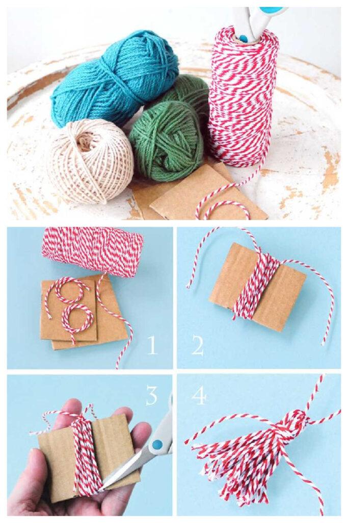 Simple Handmade Gift - Tassels