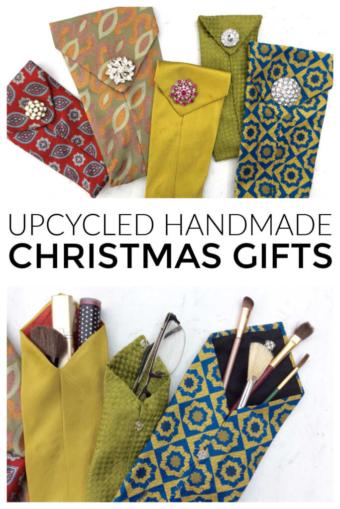 Simple Handmade Gift - Upcycled Pockets