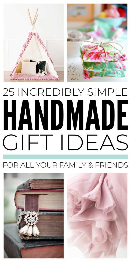 Simple Handmade Gifts You Can Make Quickly