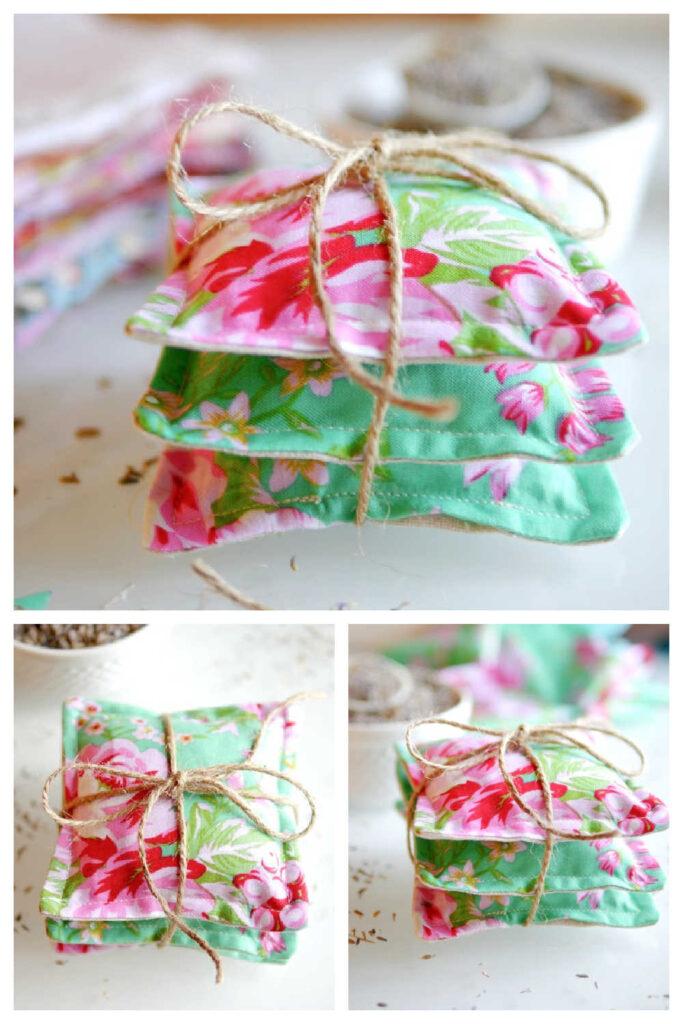 Simple Handmade Lavender Bags