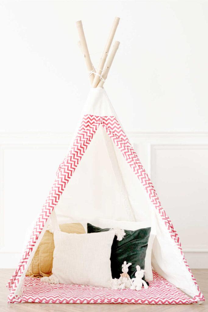 Simple Handmade Teepee Tent