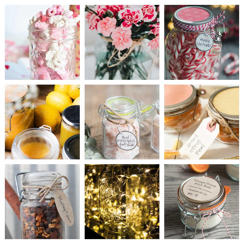 Simple Mason Jar Gift Ideas On A Budget