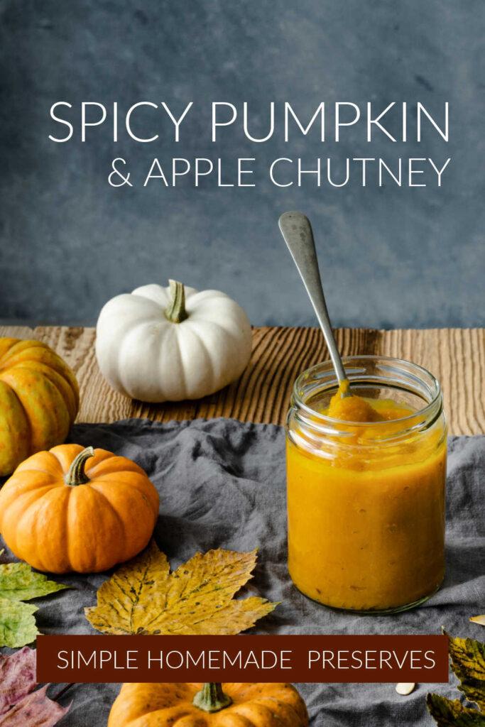 Spicy Pumpkin & Apple Chutney