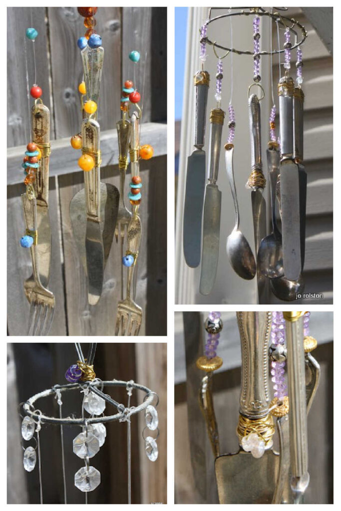 Upcycled Wind Chime - DIY Garden Gift