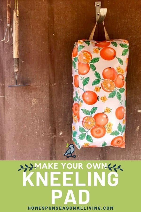 DIY Garden Gift - Kneeling Pad
